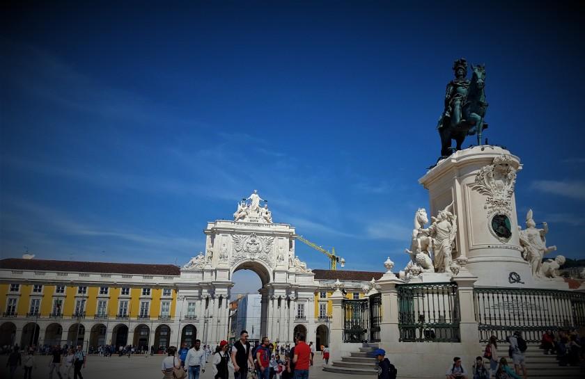 King Manuel I & Arco da Rua Augusta | Lisbon | Julie's World