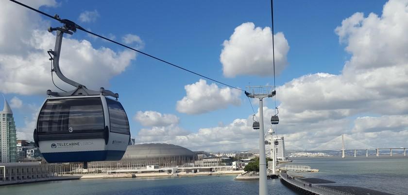 Telecabine Lisbon | Julie's World